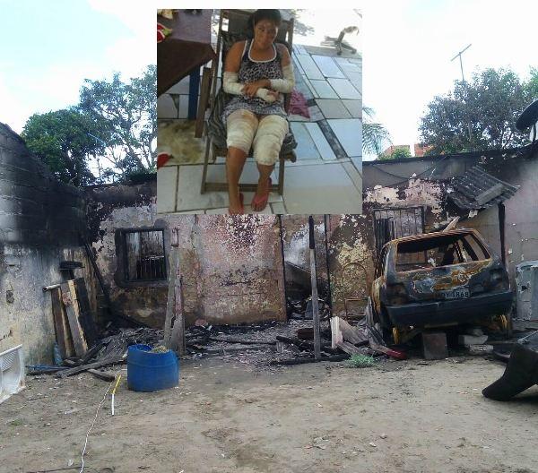 Momento ajuda: S.O.S. é para família que perdeu tudo em incêndio no bairro Interlagos