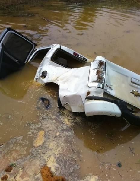 Acidente mata duas pessoas em Rio Bananal