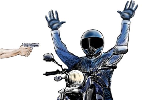 Desce e me dá a moto! Bandido deixa vítima a pé em Sooretama