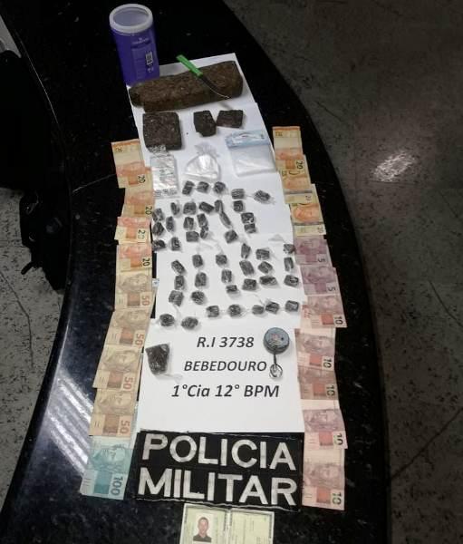 Sombra e Sombrinha: 1kg de maconha apreendido e jovem detido no Planalto