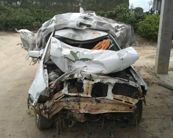 Ocupantes de moto morrem em acidente em Sooretama