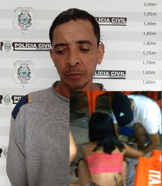 Polícia Civil prende um dos suspeitos de matar mulher e balear homem em Rio Bananal