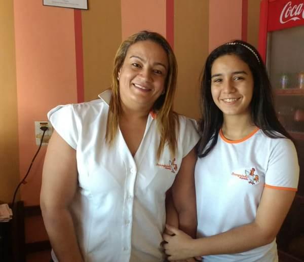 Os 15 anos de Izadora: Guerreira igual a mãe