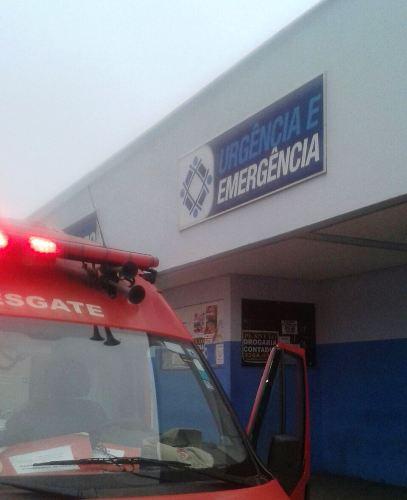 HGL: Esfaqueado no interior de Linhares é socorrido pelos Bombeiros