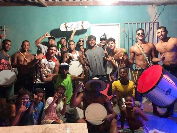 Carnaval em Povoação: Grupo se organiza para agitar com Bloco da Tia Eliete