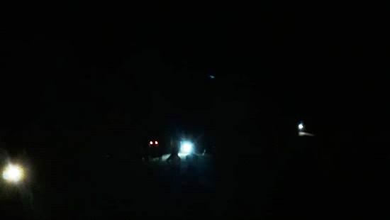 Noite de terça de carnaval às escuras em Povoação. Olha como ficou, diz leitor