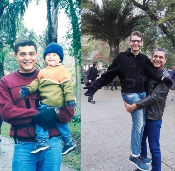 O tempo: Delegado refaz foto com o filho, e chama a atenção de leitora