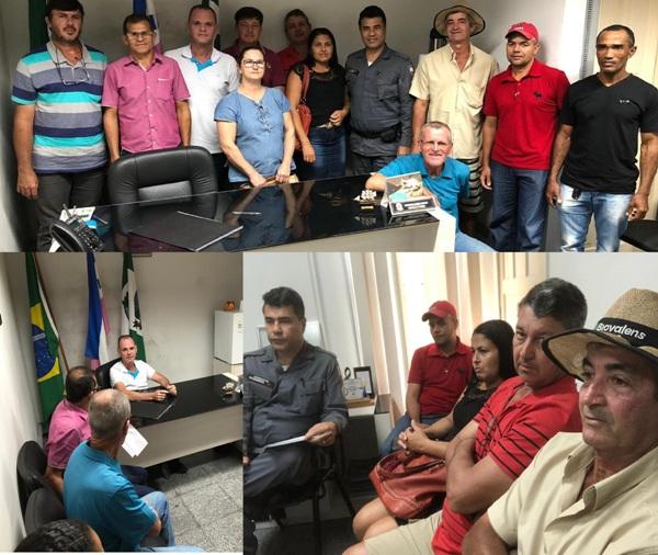 Furtos e roubos em Sooretama: Produtores rurais pedem providências ao prefeito