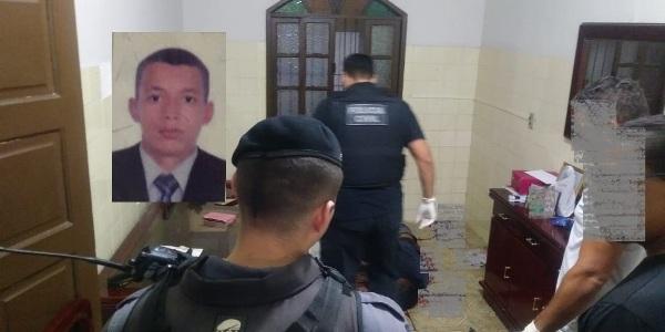 Identificado jovem que trocou tiros com a polícia, invadiu casas e morreu no Centro de Linhares