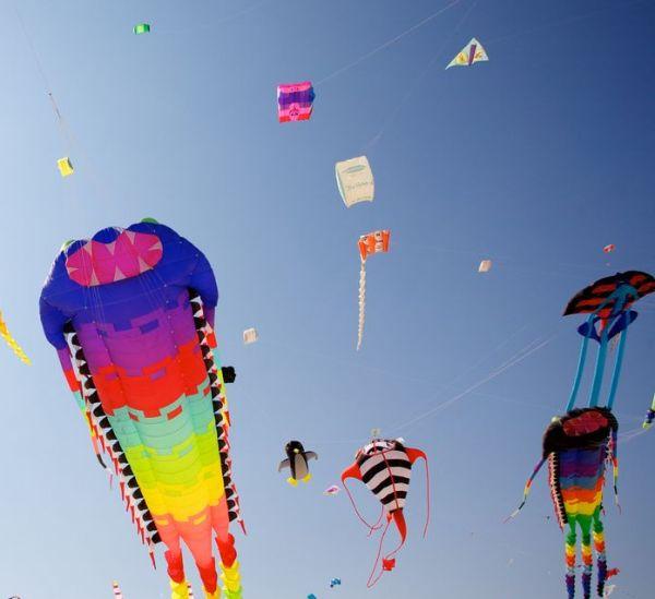Domingo será com céu colorido por pipas em Linhares. Terá até brindes