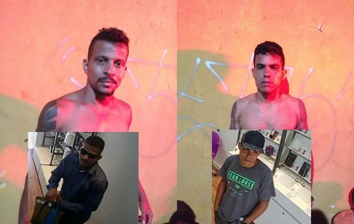 Assaltantes que roubaram loja de celular em Sooretama já estão presos