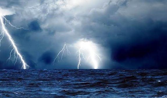 Misericórdia, Senhor! Vídeo do C. Bombeiros e alerta de ciclone apavoram capixabas