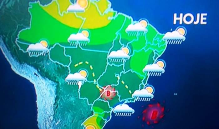 Chuvas no ES: Mapa mostra perigo que se aproxima dos Capixabas