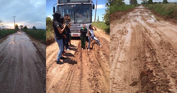 Vídeo: Mais de 40 alunos sem poder ir para a escola em Linhares