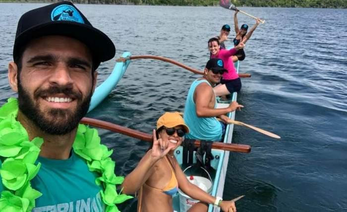 Batismo de nova Canoa Havaiana vai movimentar lagoa de Linhares