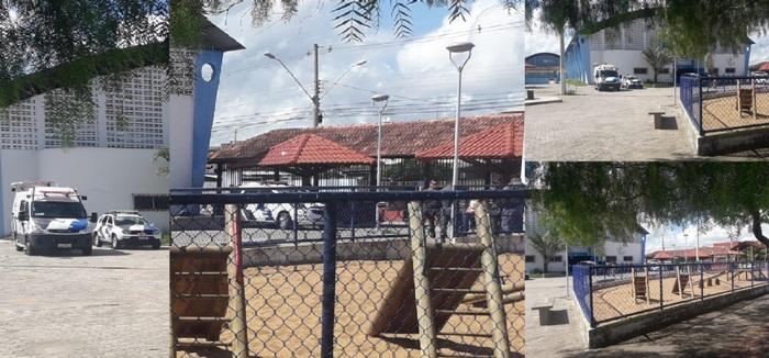 Muitas viaturas e até emissora de TV na Praça do Interlagos 2