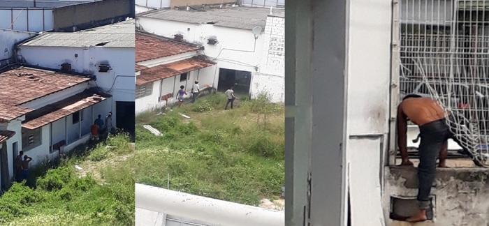 Cenas quentes e uso de drogas em casa ocupada por andarilhos no Centro de Linhares