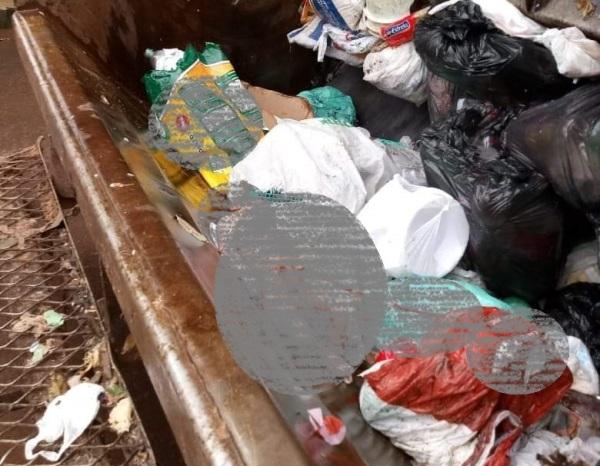 Fotografia de feto encontrado no lixo causa comoção em Linhares