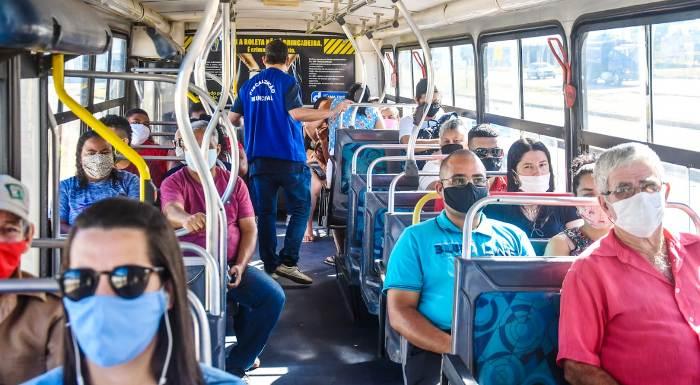 Coronavírus: Prefeitura intensifica fiscalização no transporte público de Linhares
