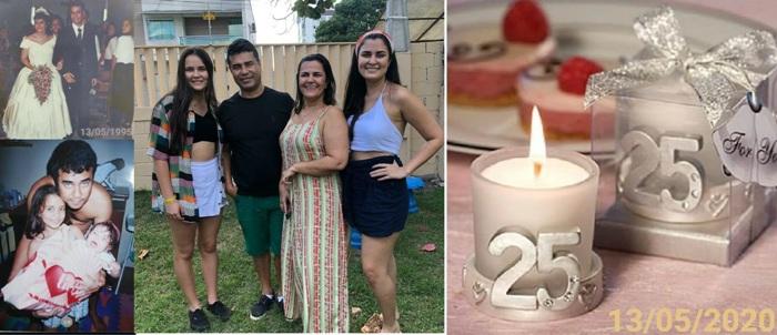 25 anos juntos: Berg lembra até horário que oficializou namoro com Carminha