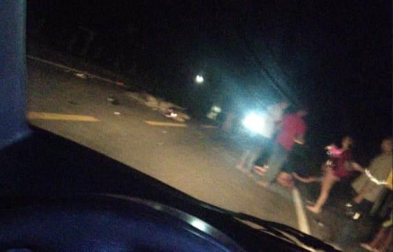 Condutor de moto sai gravemente ferido de acidente na Estrada do Pontal