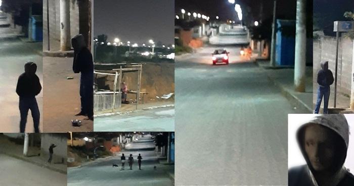 Traficantes usam carro, armas, fogos de artifício e miados no Santa Cruz
