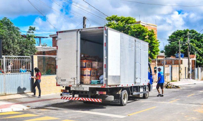 Rede Municipal: Começa entrega da segunda etapa de kits merenda para estudantes em Linhares