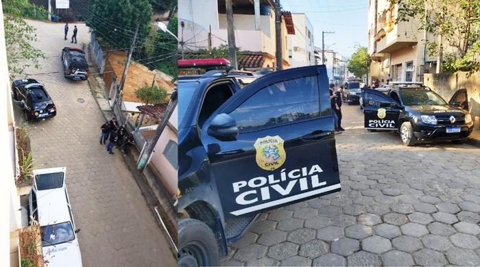 PC e PM prendem cinco pessoas e apreendem droga em Rio Bananal