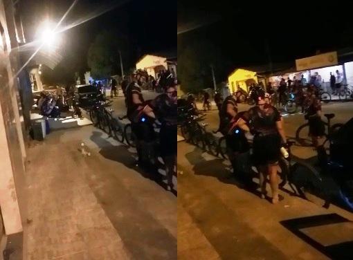 Farias: Moradora reclama de aglomeração de ciclistas durante a pandemia