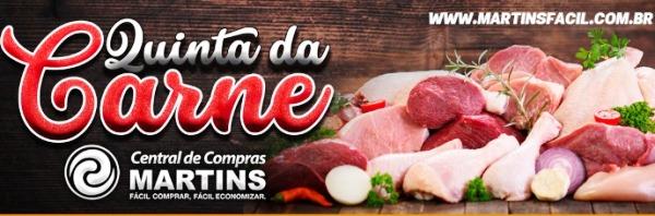 Ofertas de carne: Martins abre hoje, e é a Quinta da Carne, pessoal