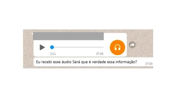 Áudio sobre suposto Lockdown em Linhares viraliza no Whatsapp