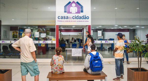 Desinfecção e novo horário de atendimento na Casa do Cidadão de Linhares