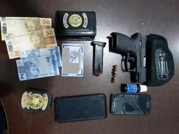 Com arma: Ex-agente temporário do Iases é preso em Linhares