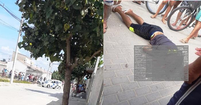 Sábado com homicídio à luz do dia em Linhares