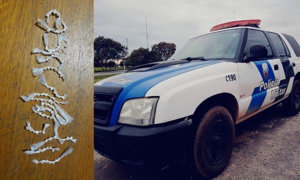 GA x K9: Mais de 100 pedras de crack apreendidas no Araçá