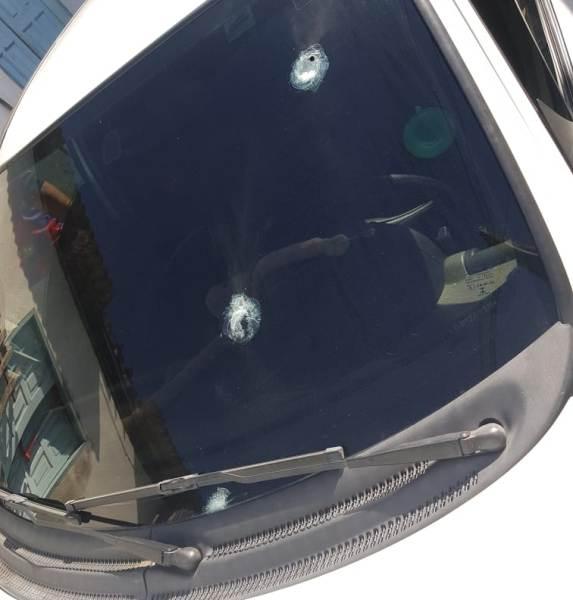 Motorista de aplicativo escapa da morte no bairro Shell
