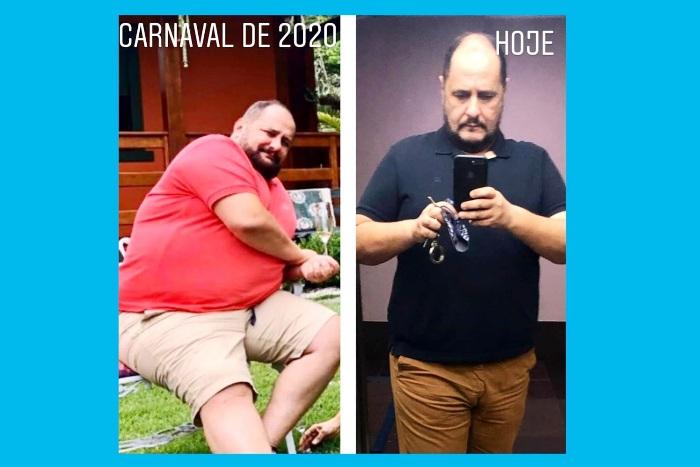 A incrível mudança de Sérgio Palmeira: Você mesmo pode mudar sua vida, afirma