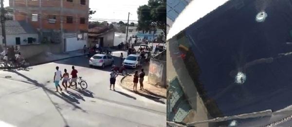 Tiros em motorista de aplicativo no Shell: Confusão começou em outro bairro