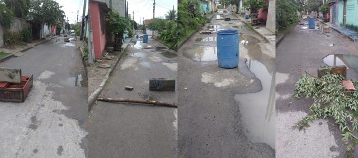 Moradores bloqueiam rua na Vila Isabel