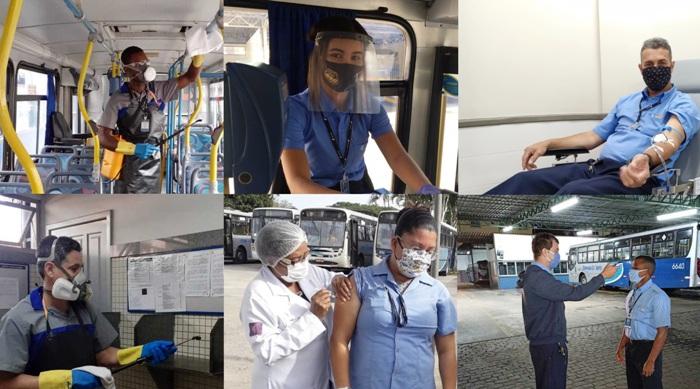 Rotina de responsabilidades na Viação Joana Darc inclui até doação de sangue