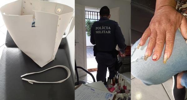Mulher é assaltada ao chegar para trabalhar no Centro de Linhares