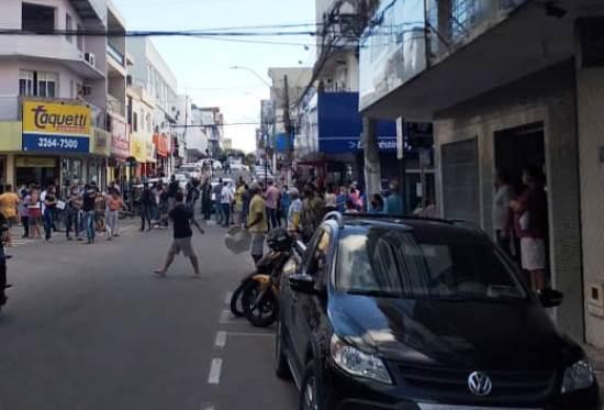 Comerciantes analisam protesto e organizam grandiosa manifestação em Linhares