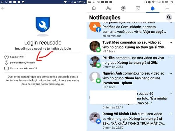 Leitora de Linhares tem perfil no Facebook atacado por chinês
