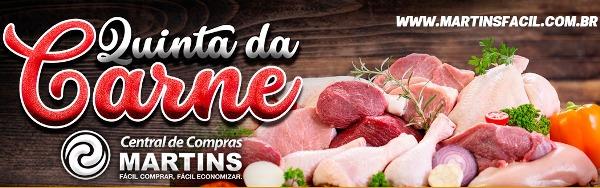 Olha carne aí! Dia de promoção de carne no Martins