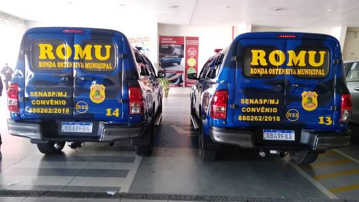 GCM tem mais dois veículos novinhos para a segurança em Linhares