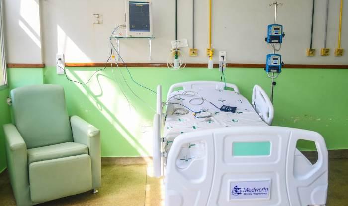 Andar exclusivo para a Covid-19 com mais leitos e sala de triagem de síndromes gripais no HGL