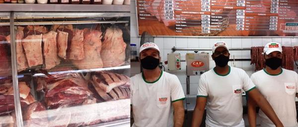 Aberto e com entrega hoje: Açougue com carnes fresquinhas pra você no Centro