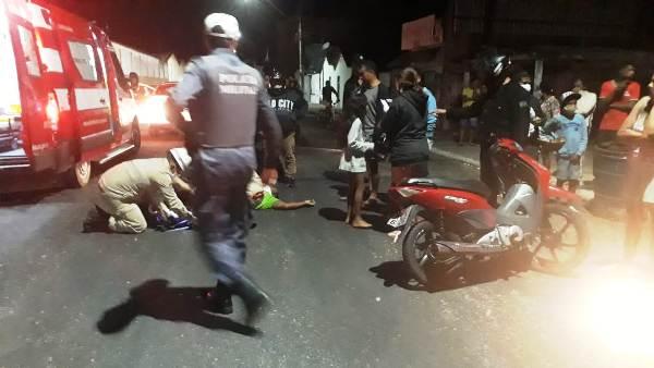 Motociclista sai gravemente ferido de acidente no Interlagos