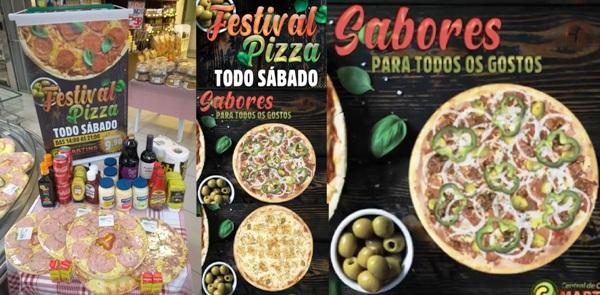 Sabadou com festival de pizzas no Martins!