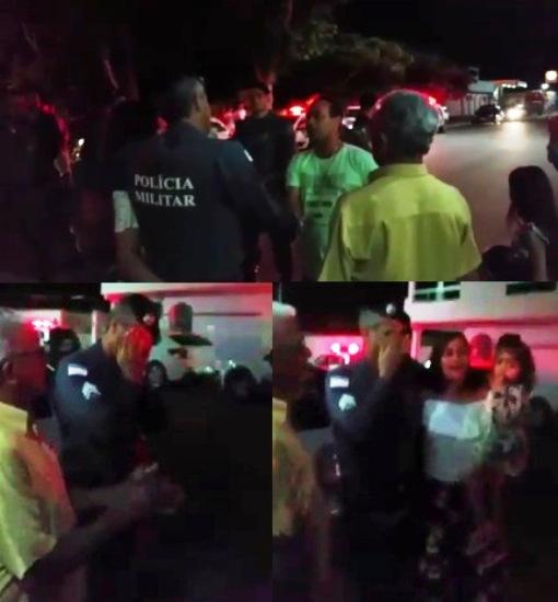 Policial chora ao receber homenagem surpresa de amigos no Interlagos